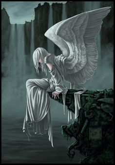Nightingale by *porcelianDoll on deviantART angel angels