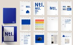 Pentagram work for The National takes wry look at corporate branding Design Guidelines, Brand Guidelines, Brand Identity Design, Graphic Design Branding, Packaging Design, Logo Design, Brand Manual, Creative Review, Brand Book