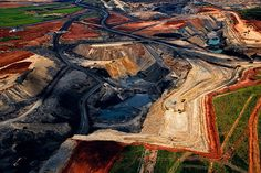 Delmas open-air coal mine, Republic of South Africa