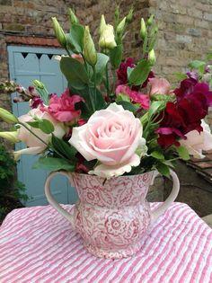 Emma Bridgewater Pink Wallpaper Two Handled Vase 2014