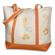 Good Dog Boater Bag now featured on Fab.