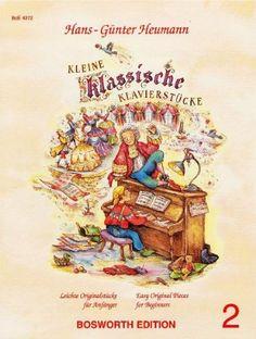 Kleine klassische Klavierstücke Band 2 von Hans-Günter Heumann