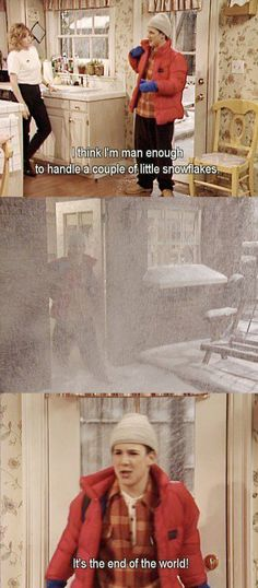 haha love Boy Meets World! This is how it felt the past couple of days in most of the US!