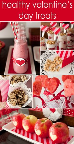 Healthy Heart Valentine's Day Dessert Table