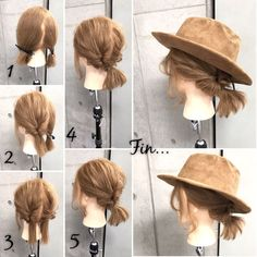 hair Hair Products as i am hair products Medium Long Hair, Medium Hair Styles, Curly Hair Styles, Hat Hairstyles, Pretty Hairstyles, Lazy Day Hairstyles, Short Hair Dos, Coiffure Hair, Hair Arrange