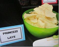 Star Wars Party - Princess Lays