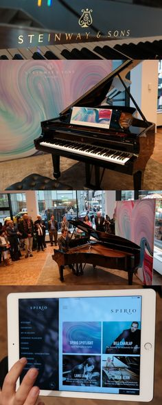 """A player piano with passion? The Steinway Spirio can digitally record every aspect of how a pianist plays it and reproduce the music with the same stroke, force and nuances as the artist. """"It plays back exactly what I play, which is uncanny,"""" said noted British pianist Simon Mulligan at a demo at New York's #Steinway Hall. With its app the @SteinwayAndSons #Spirio can also play music from Steinway's archive, thus virtually bringing famous old recordings back to life. CLICK THE PIC for a vide..."""