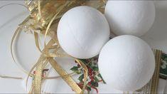 23f027282d7 DIY - Ideas para decorar esferas de telgopor - Navidad 2018 - Manualidades  fáciles