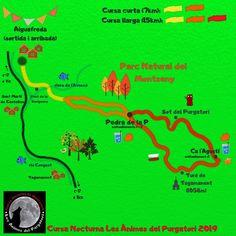 Infografia Cursa Nocturna de Les Ànimes del Purgatori 2019 Desktop Screenshot, Map, Trail, Running, Nocturne, Keep Running, Why I Run, Jogging, Maps