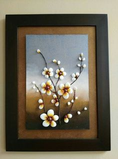 Pebble Art, Frame, Home Decor, Creativity, Picture Frame, Decoration Home, Room Decor, Frames, Home Interior Design
