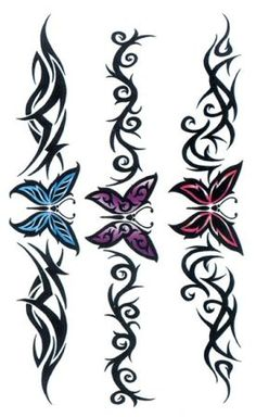 Jen from Odenton posted: Want to tattoo the 1st butterfly (pink/black) but 3rd wire not huge. i want it on my lower abdomen area - less then 7 inches. how much?i would like someone near odenton.
