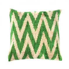 Stripe Silk Velvet Cushion Cover, 90€, now featured on Fab.