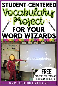 Expand your student's vocabulary knowledge with this engaging, student-centered vocabulary project called Word Wizards. Free project directions and grading rubric can be downloaded in this post! Spelling Activities, Science Worksheets, Vocabulary Activities, Vocabulary Parade, Spelling Ideas, Vocabulary Strategies, Teaching Strategies, Stem Activities, Vocabulary Instruction