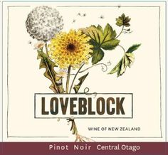 Loveblock Sauvignon Blanc 2014 from Marlborough, New Zealand - Water white, with a hint of green and gold in the glass, the 2014 vintage has lifted aromatics of white peach, underscored with tropical fruits and linear acidi.