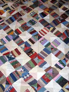 scrappy quilts | Free Scrap Quilt Pattern