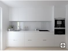 60 White Kitchen Design Ideas For The Heart Of Your Home Page 19 of 68 LoveIn Home Minimalist Kitchen Design Heart Home Ideas Kitchen LoveIn Page white Kitchen Room Design, Small Space Kitchen, Kitchen Cabinet Design, Modern Kitchen Design, Home Decor Kitchen, Kitchen Interior, Home Kitchens, Kitchen Ideas, Small Spaces
