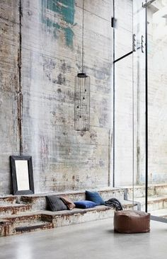 Vintage Industrial Design Ideas For Your Loft Design Industrial, Vintage Industrial Decor, Industrial Living, Industrial Interiors, Industrial Chic, Kitchen Industrial, Kitchen Wood, Room Kitchen, Industrial Bedroom