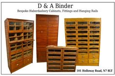 Made to order haberdashery cabinets  any size and colour. #Haberdashery #HaberdasheryDisplayUnit #WoodenDisplayUnits #ShopDisplay #Drapers #Haberdasher #Antique #Antiques #VintageDisplayUnit #VintageDisplay #DisplayCabinet #DisplayCounter #AntiqueDisplay #AntiqueDisplayCabinet #ShirtCabinet #Shopfitting #VintageDisplayCabinet #Luxury #Interiors #InteriorDesign #InteriorDesigns #Designer #Designs #Luxurious #Antiques #VintageFinds #ShopCounter #ShopDisplayCounter #Draper #ShopDesign…