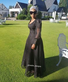 Black Maxi Dresses @nedim_ designs +27829652653 African Fashion Skirts, African Men Fashion, African Print Dresses, African Dress, Ankara Fashion, African Prints, Fashion Outfits, Fashion Tips, Evening Dresses