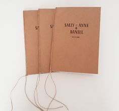 Sally & Daniel   María Vilarino Sally, Paper Shopping Bag, Wedding Invitations, Weddings, Books