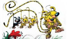 Sensation: Marsupilami in Monaco Bd Comics, Manga Comics, Monaco, Illustrations, Cute Illustration, Community Art, Sell Your Art, Cute Drawings, Postage Stamps