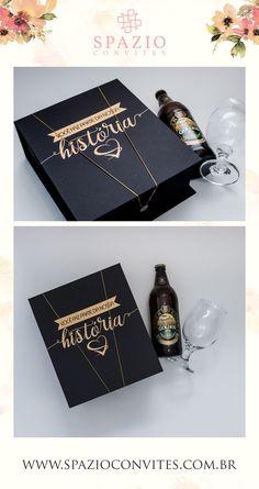 Brinde Personalizado para emrpesas, caixa com Cerveja para o Hospital São Francisco Vida, lembrança com Cerveja Baden Baden e Taça, um luxo!