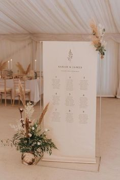 Minimalistic backdrop stands ideal for welcome signs, seating plans and order of day information. Minimalistic backdrop stands ideal for welcome signs, seating plans and order of day information. Seating Plan Wedding, Wedding Signage, Wedding Table, Our Wedding, Dream Wedding, Seating Plans, Wedding Favors, Wedding Souvenir, Table Seating