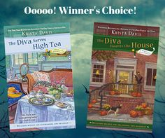 Book #giveaway from author @KristaDavis on Mystery Lovers' Kitchen. Go to blog and leave comment to enter! www.mysteryloverskitchen.com @BerkleyMystery