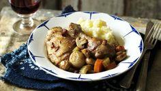 BBC Food - Recipes - Slow cooker coq au vin