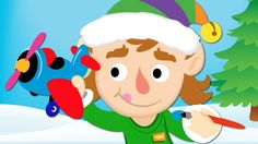 "♫1 little, 2 little, 3 little elves...10 little elves are making toys.♫ Practice craft related action verbs with Super Simple Learnings' holiday video, ""10 Little Elves."" #preK #kindergarten #ESL #YouTube #supersimplesongs"