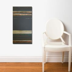 MADAGASCAR original abstract modern painting - gallery fine art - contemporary interior design - ooak home wall decor - copper brown gold. $150.00, via Etsy.