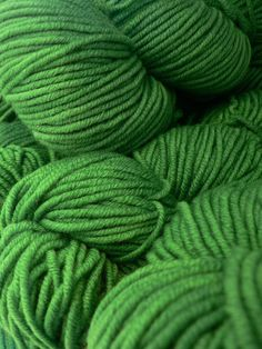 Color Verde - Green!!! Yarn