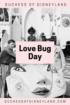 Love Bug Day - Duchess of Disneyland Disneyland History, Love Bugs, Throwback Thursday, Weird, Movie Posters, Film Poster, Billboard, Film Posters
