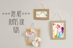 Fiche créative: Cadre DIY activité enfants