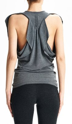 6aa36e23270 Butterfly Tank Top   Arya Yoga Grey Top   Yoga Top   Gift For Her   Summer  Tank Top   Handmade Tank Top   Racer Back Tank Top by AryaSense