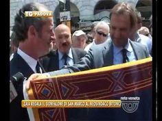 09/06/2014- ZAIA REGALA IL GONFALONE DEL VENETO A BITONCI