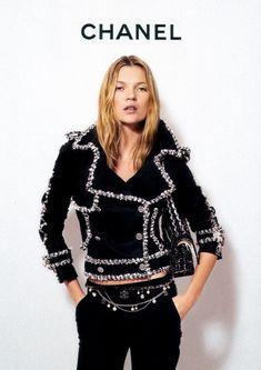 Tweed-Motorcycle Jacket   Chanel