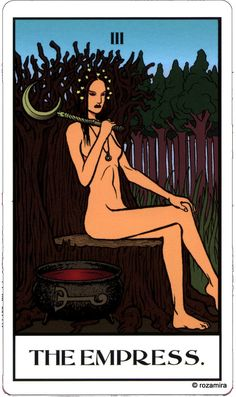 Mage ( the Ascension) tarot the Empress