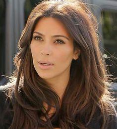 How To Get Kim Kardashian's Brown Hair