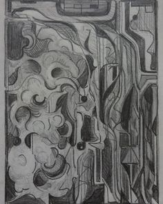 ~2003 #abstraction #abstract #abstractart  #drawing #pencilart for a #painting #art #fineart #original #originalart #abstractexpressionism #nonobjectiveart #abstractexpressionist #nonobjective #nonobjectivepainting  #nonobjectiveabstract #artist #abstractartist  #texasartist #pencildrawing #commission  #artcommission #artcommissions #artistcommission  #drawings #paintings #pencil #composition #shapes #abstractpainting  I can paint this for you, any scale.