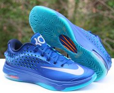 low priced ac110 ff77a Nike KD Kevin Durant VII 7 Elite 724349-404 Elevate Gym Blue DS Size 11 SNEAKERS  for sale online   eBay