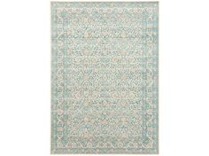 Moderní kusový koberec Patina 41030-500 tyrkysový