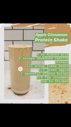 Arbonne Shake Recipes, Arbonne Protein Shakes, Protein Shake Recipes, Smoothie Recipes, Arbonne 30 Day Detox, Arbonne Cleanse, Apple Shake Recipe, Healthy Drinks, Healthy Protein