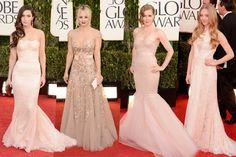 #Rosa cipria #GoldenGlobes