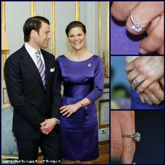 Engagement ring of Crown Princess Victoria of Sweden