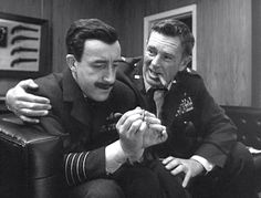Peter Sellers and Sterling Hayden -- Doctor Strangelove