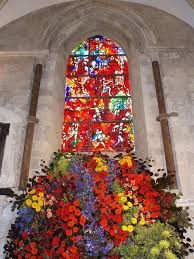 The Festival Of Flowers at Chichester Cathedral (the one with the nesting peregrines too!) - 2-4 June 2016. Its every 2 years. An amazing spectacle. #flowers #Cathedral #Chichester #accommodation