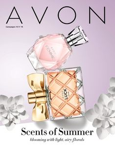 Scents of Summer Avon campaign 10-11 2018