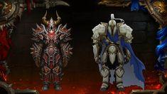 World of Warcraft: Battle for Azeroth World Of Warcraft Game, Warcraft Art, Red Knight, Knight Armor, Dark Knight, Dragon Age, Wow Art, Fantasy Armor, Art Google