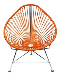 Innit Designs Acapulco Chair, Orange Weave on Chrome Frame Innit,http://www.amazon.com/dp/B008ESBBLC/ref=cm_sw_r_pi_dp_iEpXsb0X82CP1E4V